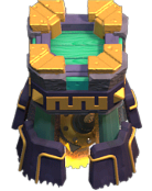 zap required for lvl 9 Bomb Tower coc