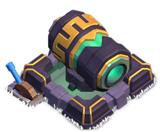 zap required for lvl 20 Cannon coc