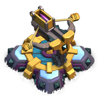 zap required for lvl 8 X-Bow coc